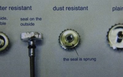 How to Replace a Crown and Stem on a Wristwatch